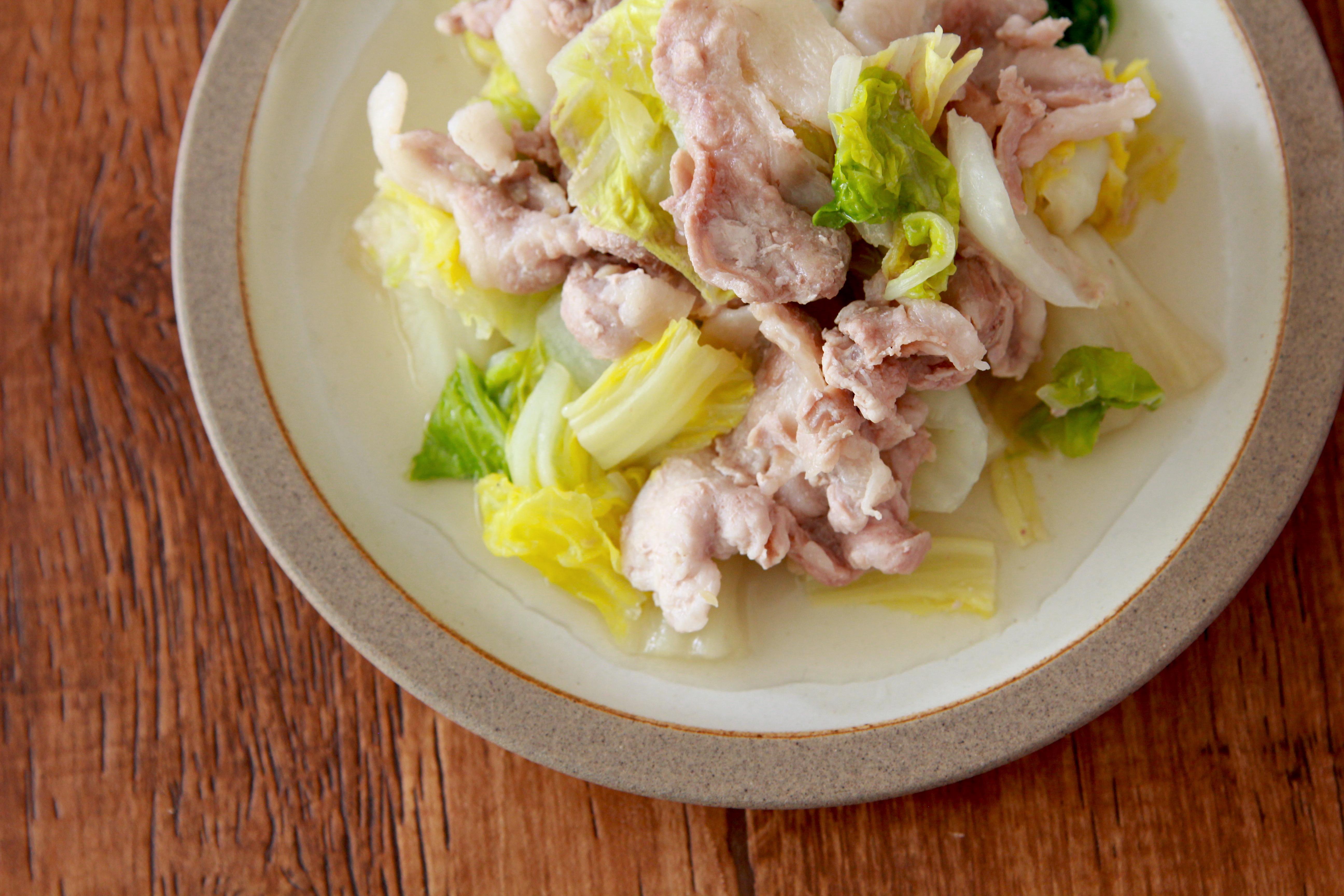 白菜 豚 バラ