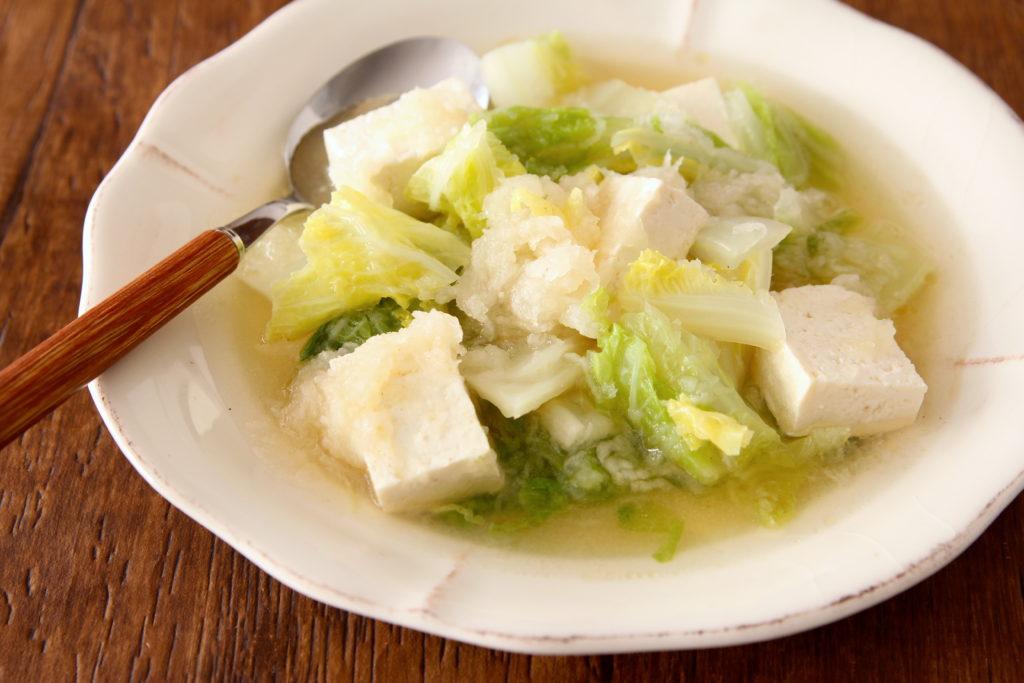 ガラ 白菜 スープ 鶏