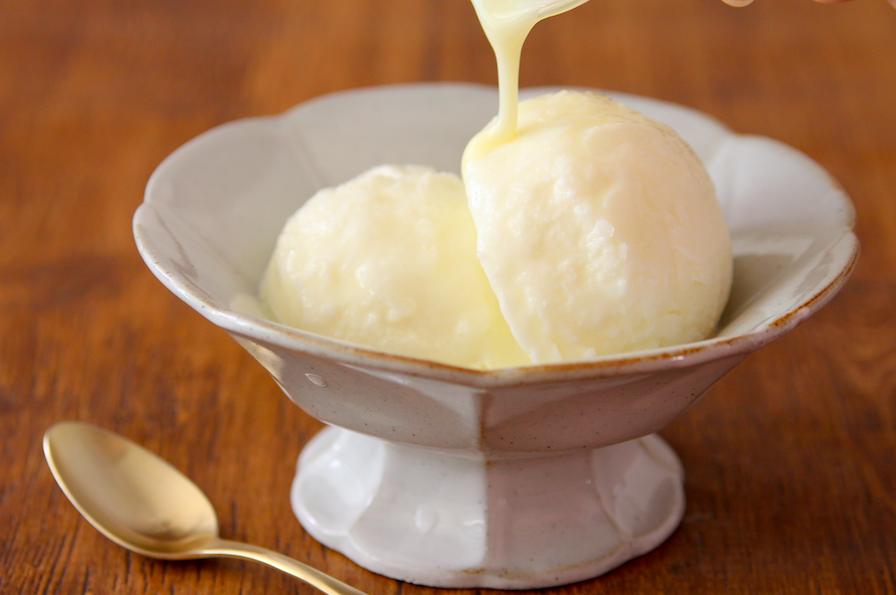 アイス の 作り方 簡単 バニラ